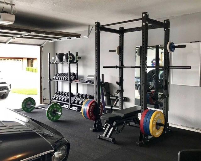 crossfit in garage
